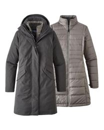 Patagonia vosque 3 in 1 parka donna