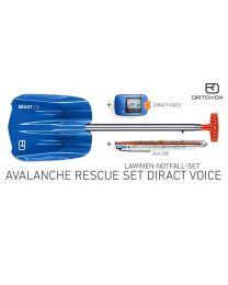 Ortovox avalanche rescue set diract voice