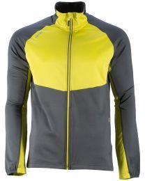 GTS waffle fleece jacket bicolor