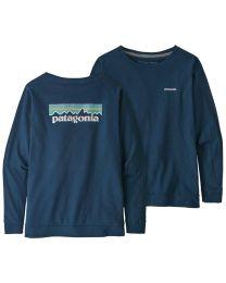 Patagonia p 6 logo long sleeve donna