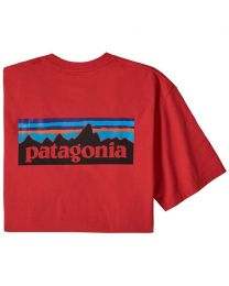 Patagonia p6 logo responsabili tee