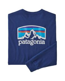 Patagonia long sleeved fitz roy
