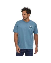 Patagonia ms tube view organic t-shirt