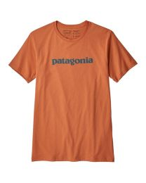 Patagonia Men's Text Logo Organic Cotton T-Shirt
