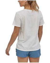 Patagonia pastel P-6 logo organic cotton crew t-shirt