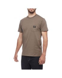 T-Shirt Black Diamond Pocket Label Tee Uomo
