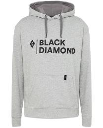 Black Diamond stacked logo hoody