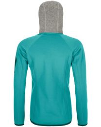 Ortovox fleece plus classic knit hoody donna