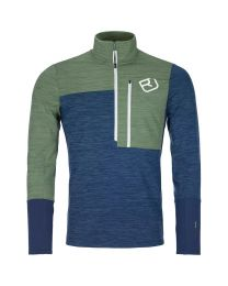 Ortovox Fleece Light Zip Neck uomo