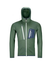 Ortovox fleece grid hoody uomo