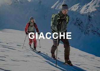 Una coppia che pratica sci di fondo